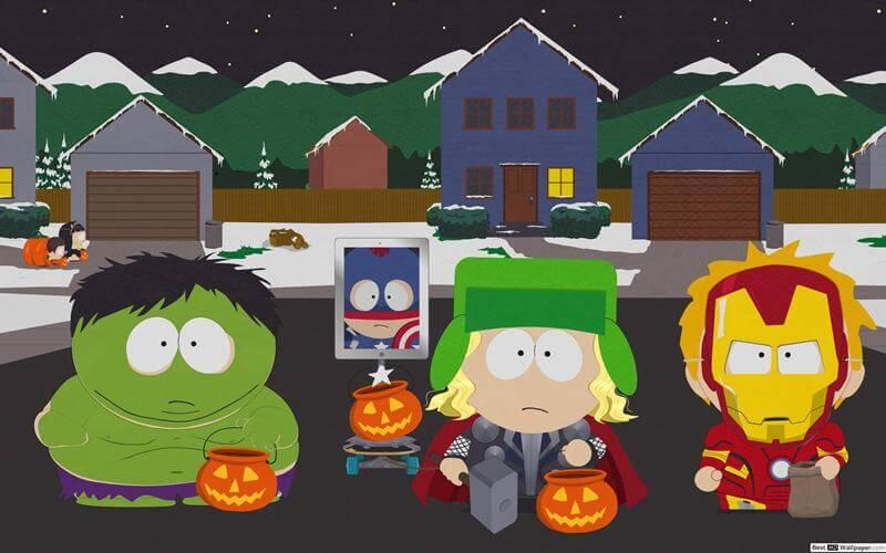 Хэллоуин Южный парк 24 сезон