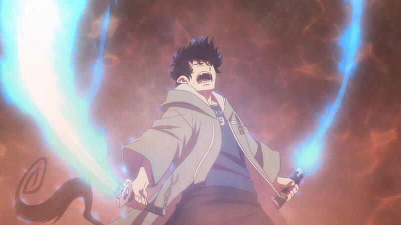 Герой с мечами Синий экзорцист