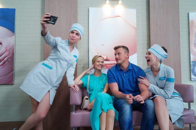Главные герои Женский доктор 5 сезон