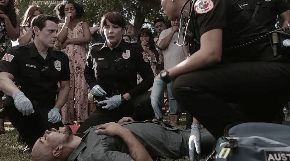 Кадр из сериала 911: Одинокая звезда 2 сезон