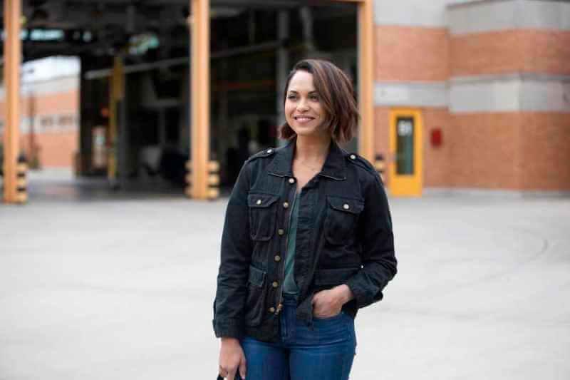 Моника Реймунд в сериале Пожарные Чикаго 9 сезон