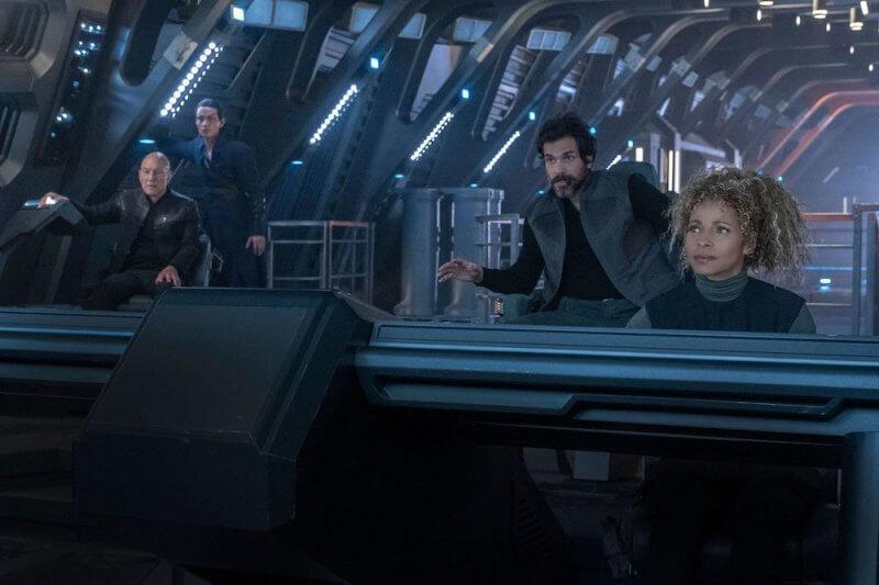 Рубка корабля Звездный путь: Пикар