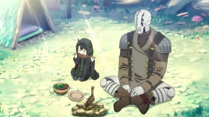 Главные герои аниме Сомали и лесной дух 2 сезон