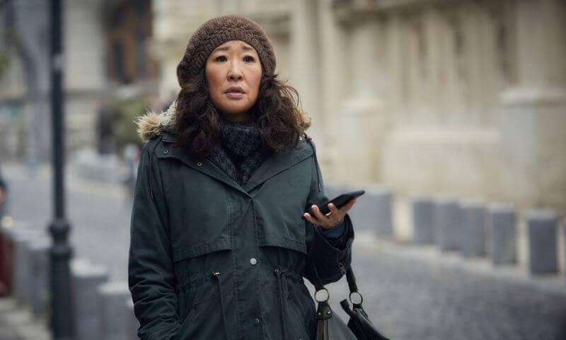 Сандра О в проекте Убивая Еву 4 сезон