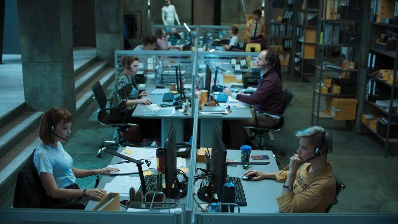 Кадр из сериала Колл-центр 2 сезон