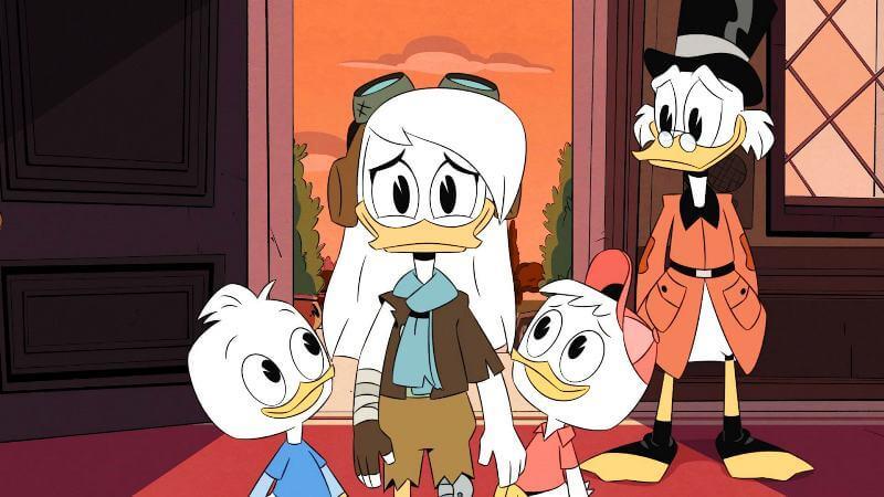 Кадр из мультфильма Утиные истории 4 сезон