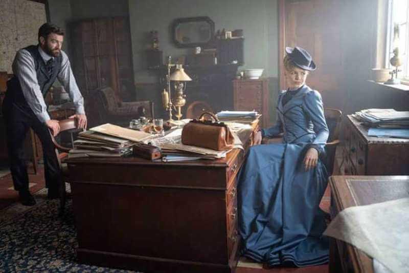 Стюарт Мартин в проекте Мисс Скарлет и Герцог 2 сезон