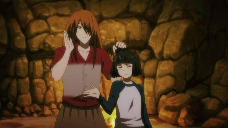 Кадр из аниме 7 семян 3 сезон