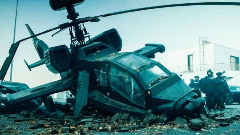 Разбитый вертолёт Аванпост 2 сезон