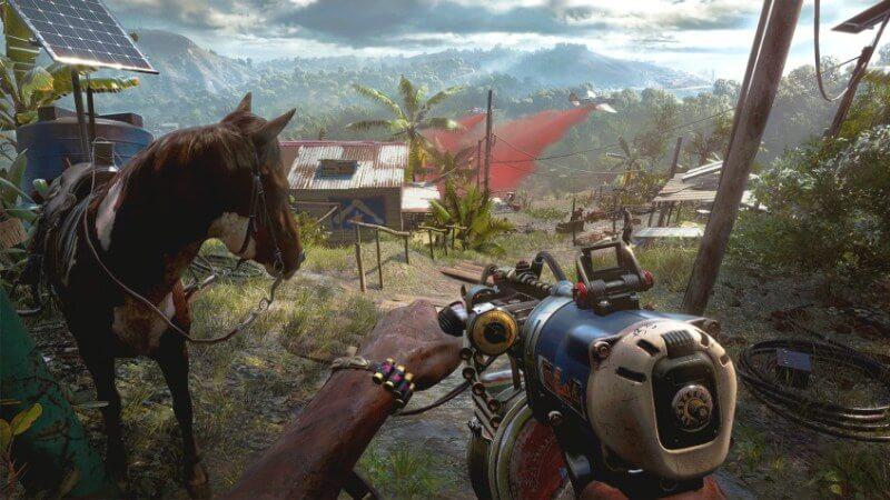 Кадр из игры Far Cry 6, Фар Край 6