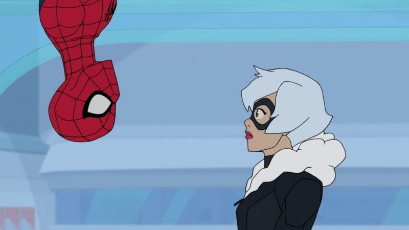 Кадр из мультсериала Человек-паук 4 сезон