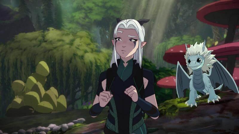 Кадр из сериала Принц драконов