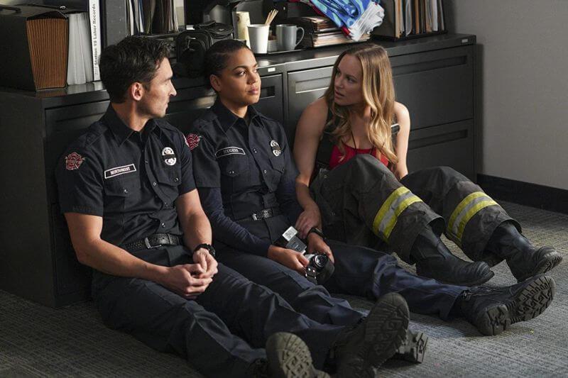 Главные герои Пожарная часть 19