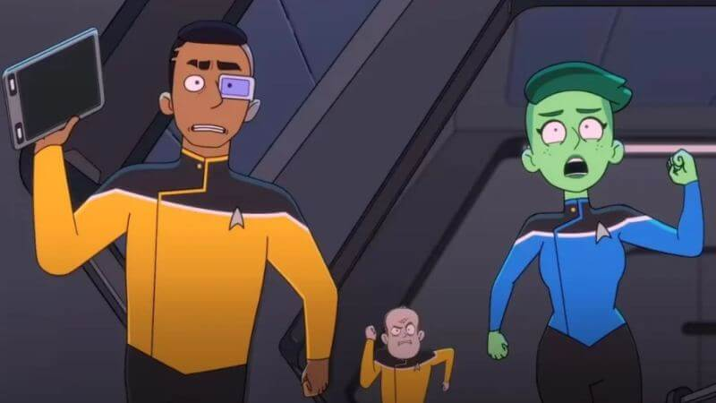 Главные герои Звездный путь: Нижние палубы 2 сезон