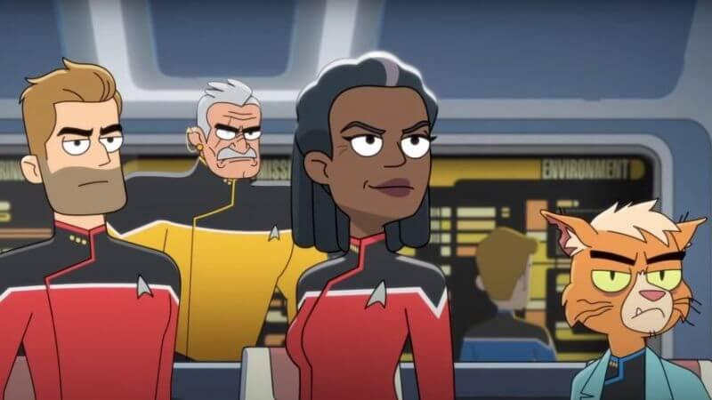 Кадр из мультсериала Звездный путь: Нижние палубы 2 сезон