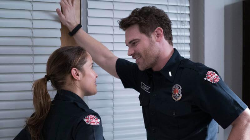 Команда Пожарная часть 19 4 сезон