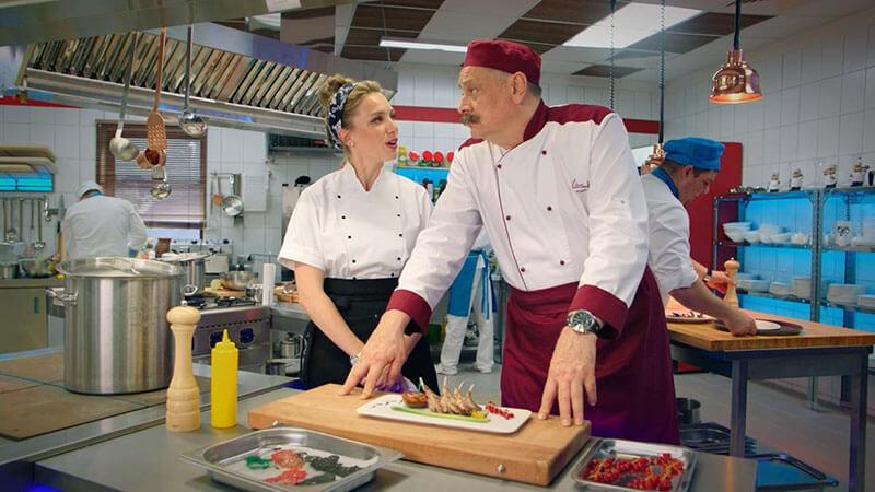Дмитрий Назаров в проекте Кухня. Война за отель 3 сезон
