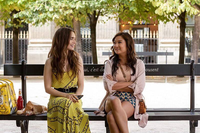 Эшли Парк в проекте Эмили в Париже 2 сезон