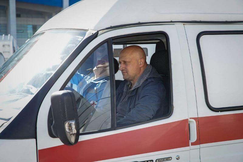 Гоша Куценко в сериале Скорая помощь 4 сезон