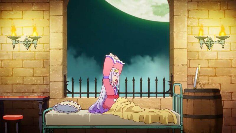 Кадр из аниме Сон в замке демона 2 сезон