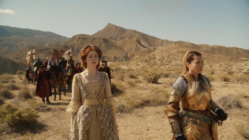 Кадр из сериала Испанская принцесса