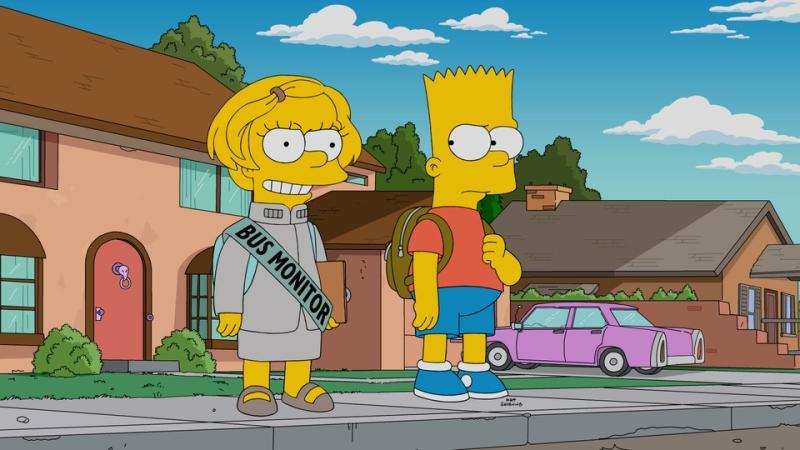 Барт Симпсоны 33 сезон