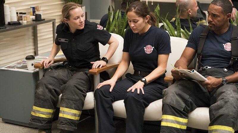Джессика Ортиз в сериале Пожарная часть 19 5 сезон