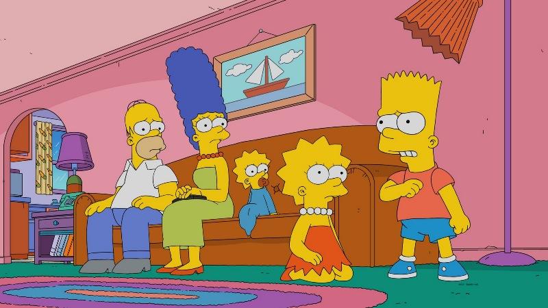 Главные герои Симпсоны 33 сезон