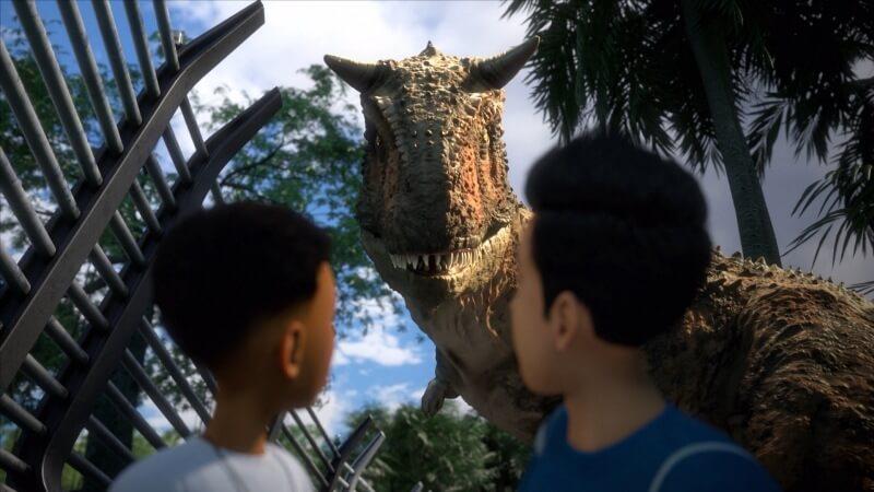 Динозавр Мир Юрского периода: Лагерь Мелового периода 3 сезон