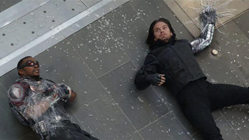 Энтони Маки в сериале Сокол и Зимний солдат 2 сезон