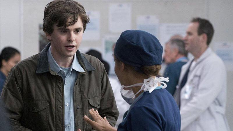 Фредди Хаймор в сериале Хороший доктор 5 сезон