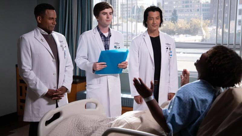 Главные герои Хороший доктор