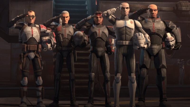 Главные герои Звездные войны: Бракованная партия