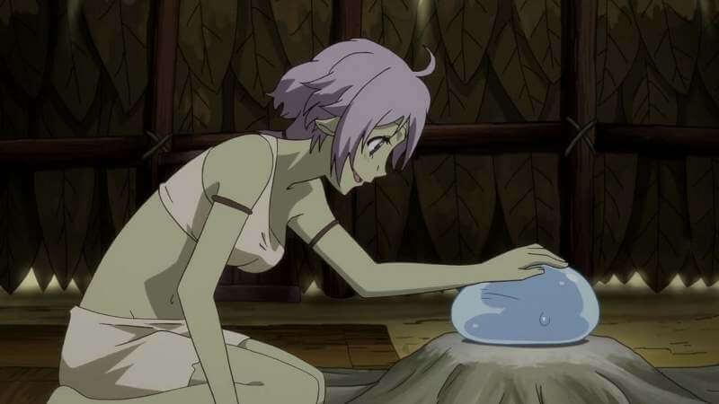 Кадр из аниме О моем перерождении в слизь 3 сезон