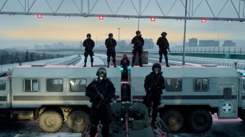 Кадр из сериала Эпидемия
