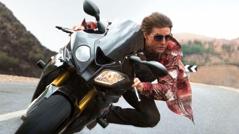 На мотоцикле Миссия невыполнима 8