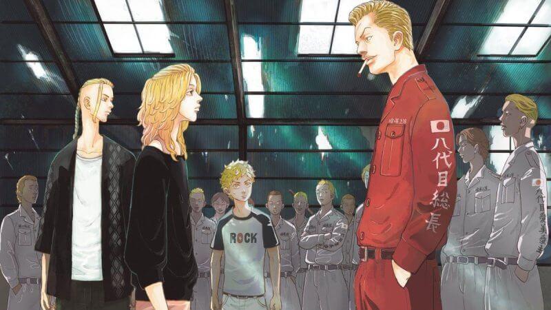 Кадр из сериала Токийские мстители