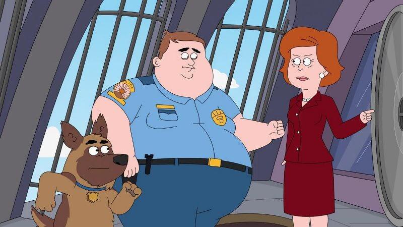 Кадр из сериала Полиция Парадайз 4 сезон