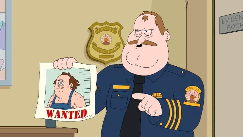 Капитан Полиция Парадайз