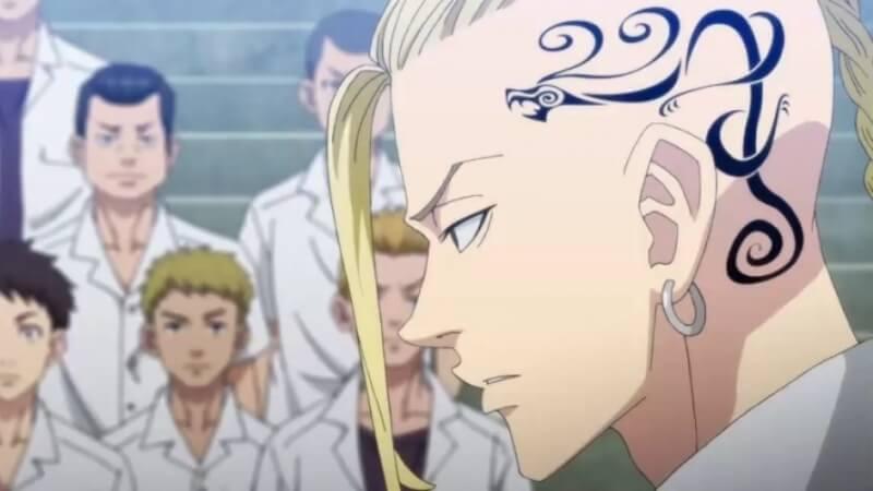 С татуировкой Токийские мстители 2 сезон