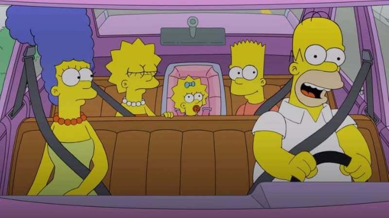 Главные герои Симпсоны 34 сезон