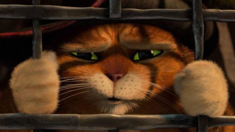 В тюрьме Кот в сапогах