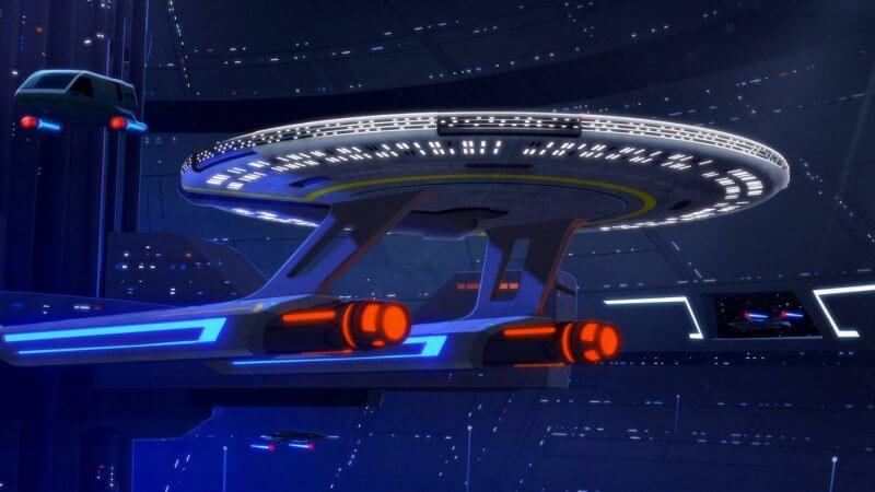 Звездолёт Звездный путь: Нижние палубы 3 сезон