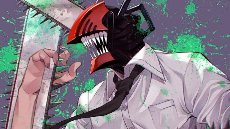 Кадр из аниме Человек-бензопила 1 сезон
