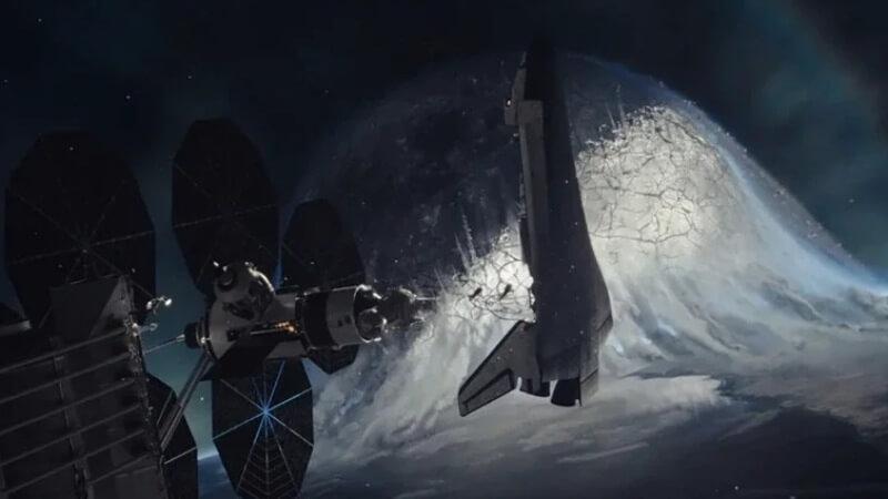 Кадр из фильма Падение Луны