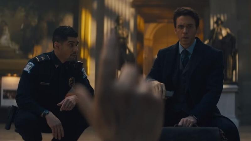 кадр из сериала Утраченный символ