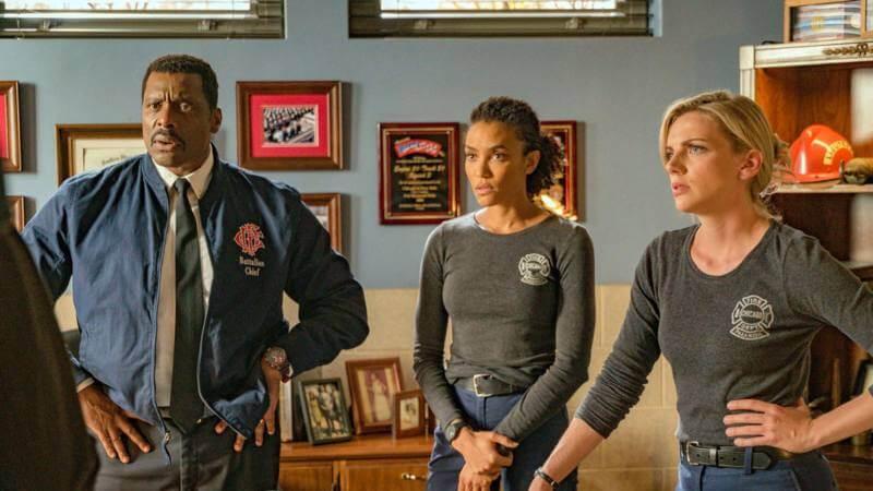 Главные герои Чикаго в огне 11 сезон