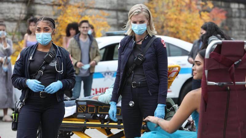 Кадр из сериала Чикаго в огне 11 сезон
