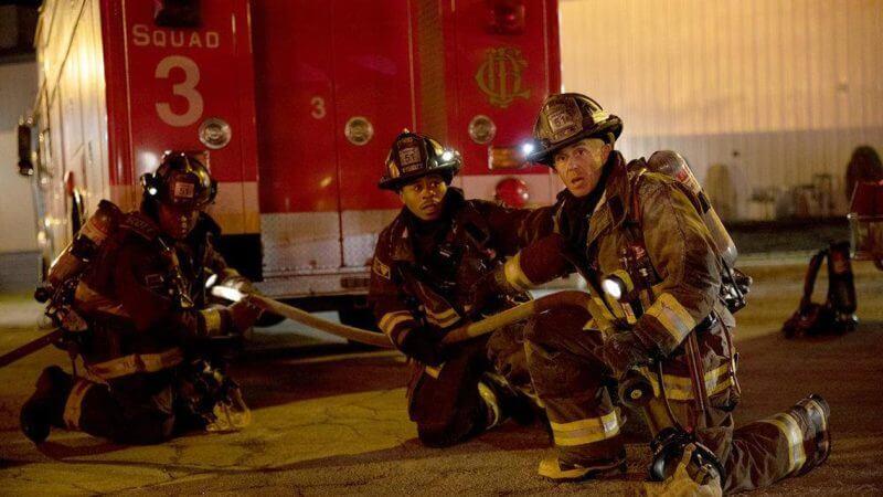 На выезде Чикаго в огне